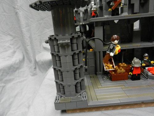 Lego Mountain Fortress 043
