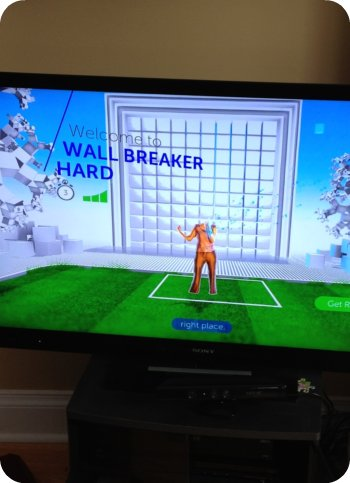 headless on the Xbox Kinect