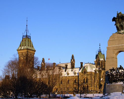 East Block and War Memorial, Ottawa
