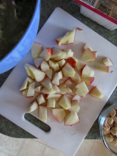 Chopped Organic Gala Apple