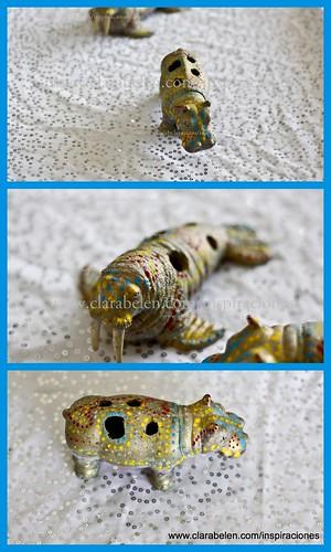 Reciclar juguetes: Cómo hacer simpáticos lapiceros de animales