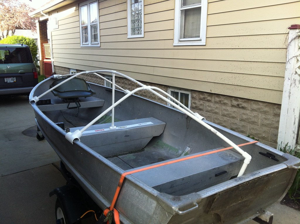 VWVortex.com - DIY: Boat Cover (or tarp) Support