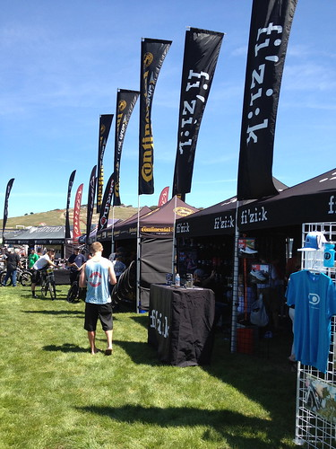Sea Otter, some booths were on grass