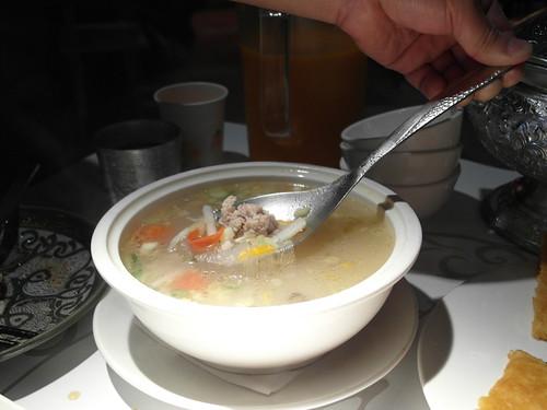 肉末粉絲湯