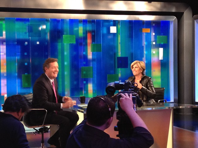 Piers Morgan & Suze Orman