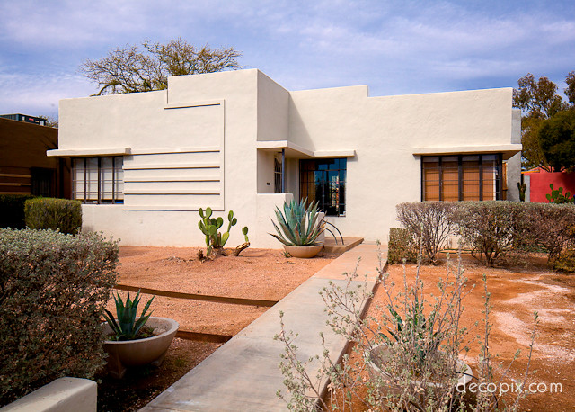 Art Deco House Tucson Arizona Flickr Photo Sharing