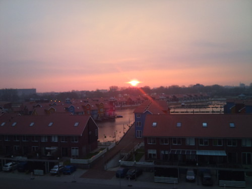 Sunrise over Reitdiep by XPeria2Day