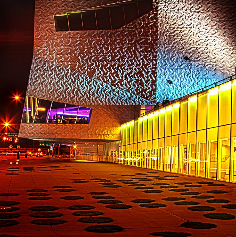 Walker Art Center at Night, Minneapolis