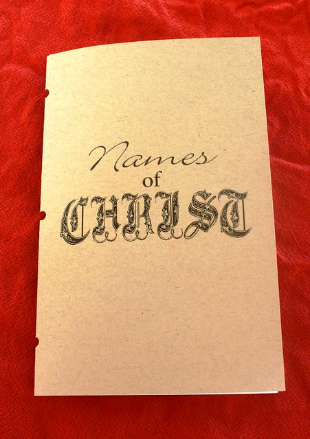 Names of Christ booklet 02