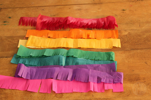 a rainbow of tissue!