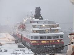 Hurtigruten in Tromsø 2/3