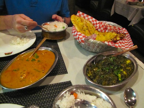 Indian food is delicious