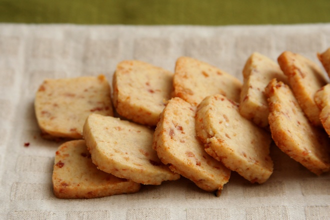 bacon parmesan crackers 4