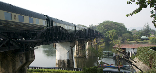 11 Train on Bridge River Kwai