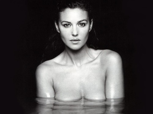 Monica Bellucci by david haggard