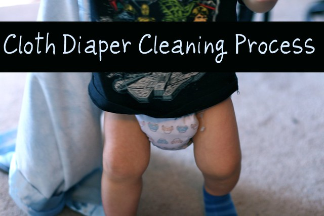 Cloth Diaper Cleaning Process