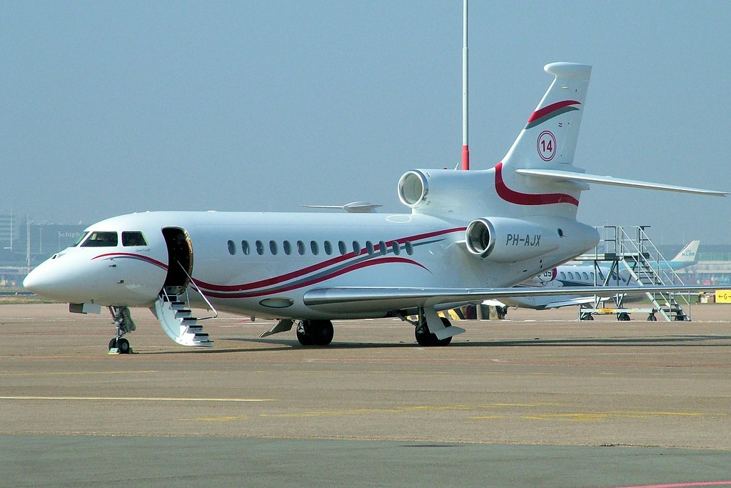 PH-AJX - FA7X - Flying Service