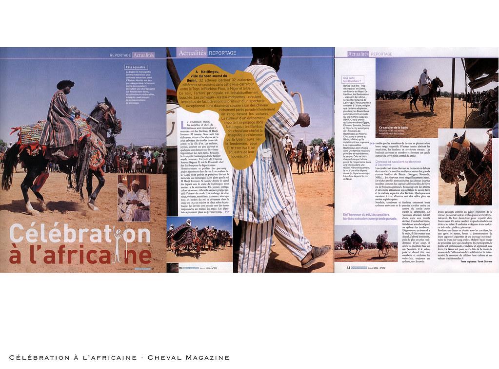 Célébration à l'Africaine · Cheval Magazine