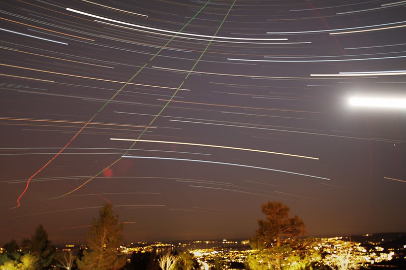 Time Lapse Stars
