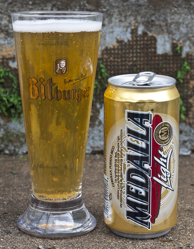 Review: Medalla Light (Puerto Rico) by Cody La Bière