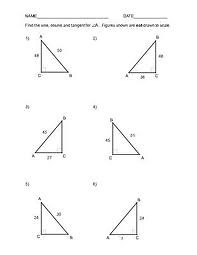 Printables Tangent Ratio Worksheet tangent ratio worksheet plustheapp trigonometry worksheets flickr photo sharing