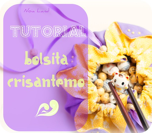 TUTORIAL: Bolsita crisantemo