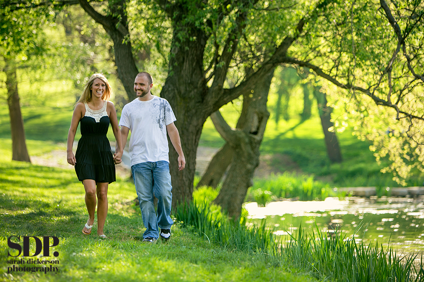 Lawrence Kansas engagement session
