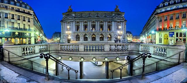 Boca del Metro de la Opera Garnier (Paris)