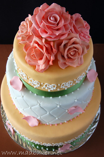 Anniversary and Memorial Cake