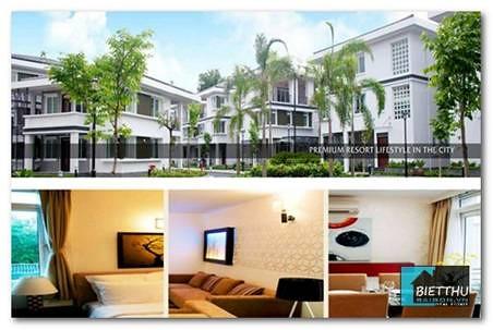 Cho thuê biệt thự trung tâm TpHCM, 1500USD/ tháng