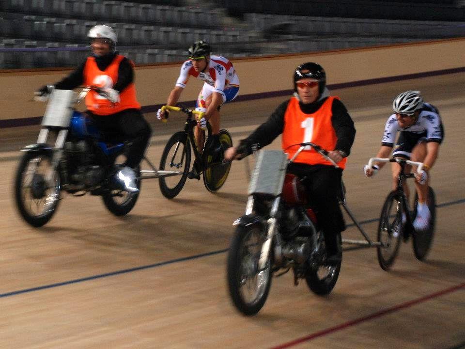 Escola Ciclisme - Velòdrom Palma Arena, 28-01-2012.