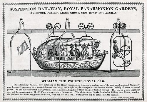 Suspension railway, Royal Panarmonion Gardens