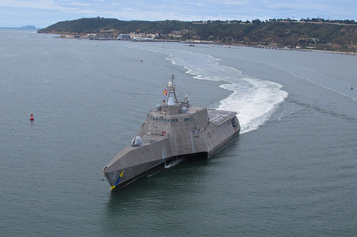 LCS 2 Tests 57 mm Gun in Preparation for RIMPAC