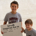 KLRU inspires me to ... play and be a good brother!