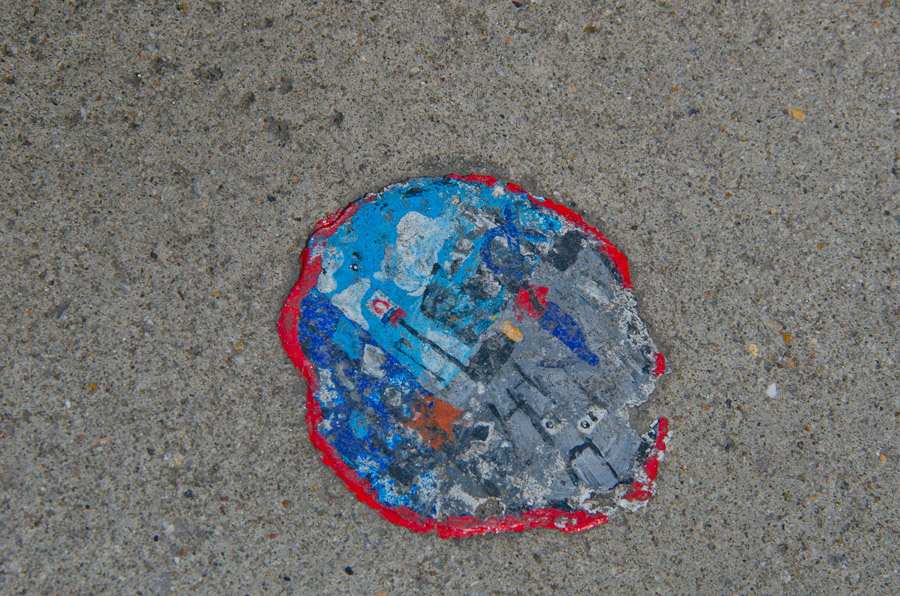 Ben Wilson - Paint on Chewing Gum, East London Street Art
