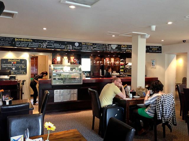 Yumi cafe at Umi Hotel London