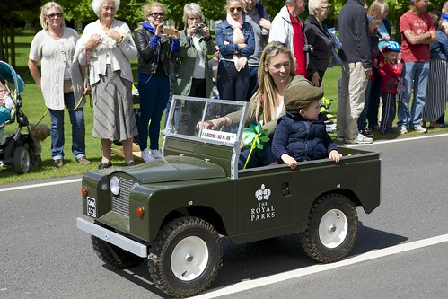 Royal Parks vehicle!
