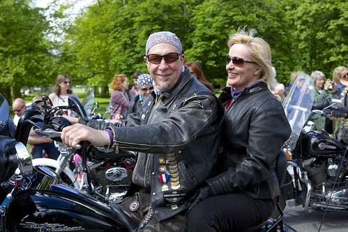 Harley Davidson couple