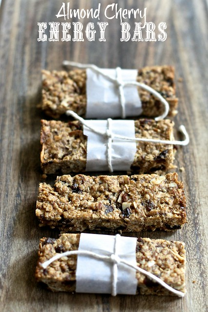 Almond Cherry Energy Bars 003