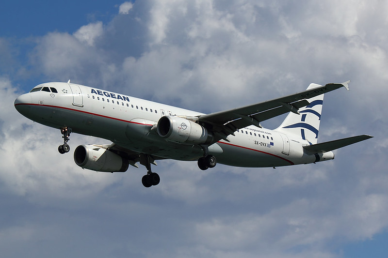 Aegean - A320 - SX-DVX (1)
