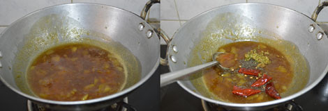 sweet mango pachadi