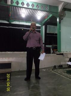 Sambutan Kepala Sekolah yang diwakili oleh Bapak Salmandri, S. Pd.