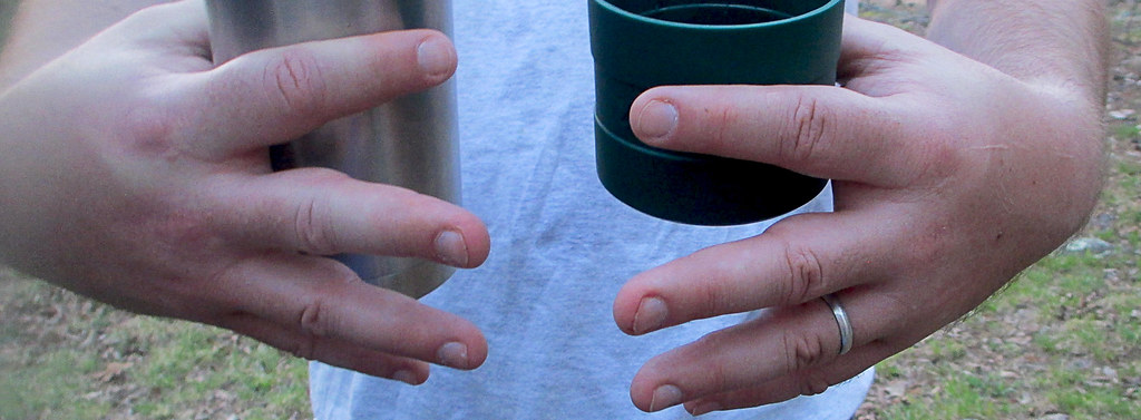 Local Treks: Swollen fingers from backpacking