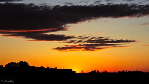 sunset canon silhouettes rimini canon600d darktable