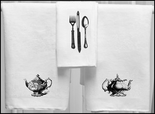 White Damask Linen Napkins
