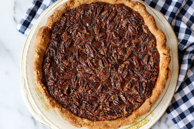 Chocolate Pecan Derby Pie