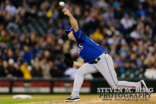 MLB: Texas Rangers at Seattle Mariners