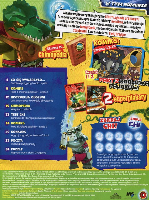 LEGO Legends of Chima Oficjalny Magazyn 2014-05 03