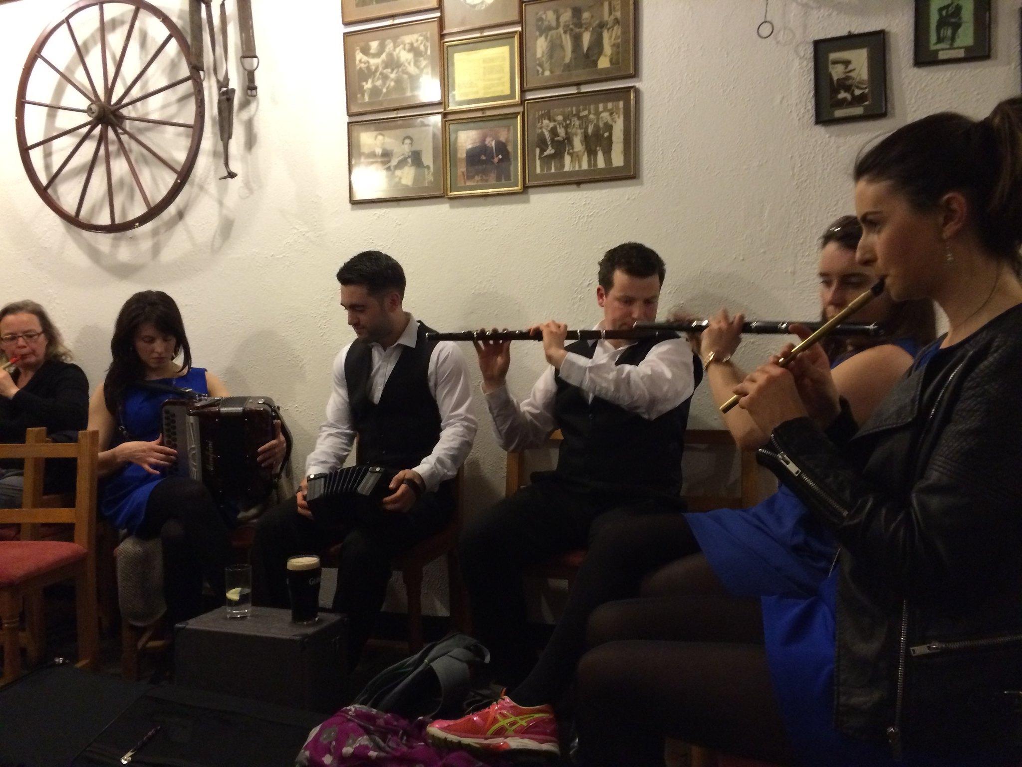 Concert de musique traditionnelle irlandaise