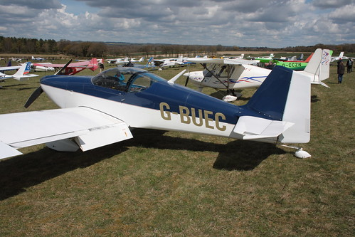 G-BUEC Van RV-6 Popham